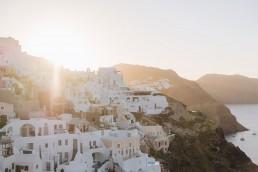 Paola Lattarini destination wedding elopement photographer trip to Santorini Greece travel blog