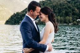 Paola Lattarini destination wedding and elopement photographer engagement session Lenno Lake Como