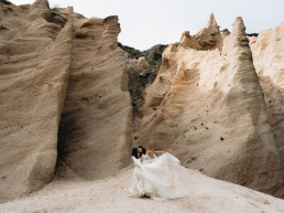 Paola Lattarini destination wedding and elopement photographer wild adventure couples mountain lovers Italian Italy lame Rosse