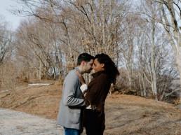 Paola Lattarini destination wedding elopement photographer mountain couple session adventure couple pet lovers